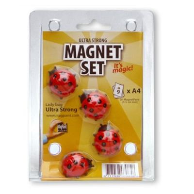 Magpaint Set 4 Magneti Coccinelle