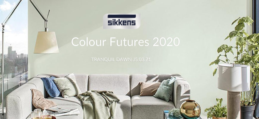 Sikkens Colour Futures 2020 Tranquil Dawn J5.03.71